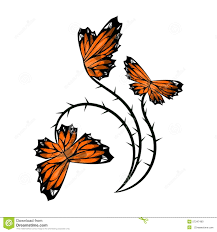 butterfly flower stock photo image 57347490