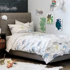 gorgeous kid bedroom design ides with dinosaur bed sheets