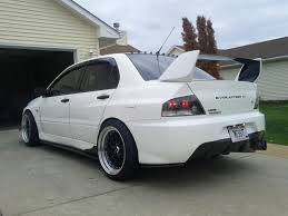 jdm mitsubishi evo official jdm rear bumper thread pictures only evolutionm
