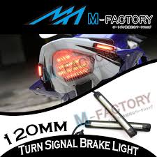 Auto Led Strip Lights by 12cm Tail Brake Turn Signal Led Strip Lights Bar For Mt 07 Mt 09