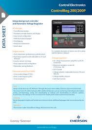 controlreg 200 200p leroy somer pdf catalogue technical