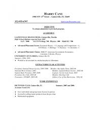 Resume For Medical Assistant Student General Career Objective For Resume Examples Medical Assistant