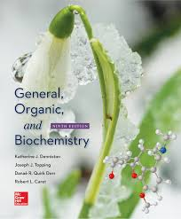 general organic and biochemistry katherine j denniston joseph