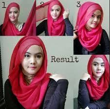 tutorial jilbab segi 4 untuk kebaya fluffy hijab kebaya pesta