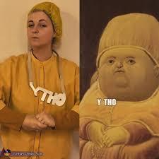 Meme Costume - y tho meme costume photo 2 2