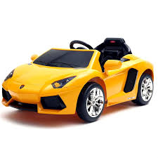 lamborghini supercar licensed 12v yellow lamborghini aventador super car 329 95
