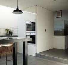 modernist master adolf loos inspired this split level home