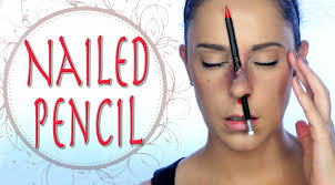 makeup fx school nailed pencil special effects makeup tutorial quiros