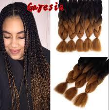 ombre kanekalon braiding hair ombre kanekalon braiding hair 24 60cm 100g kinky twist hair two