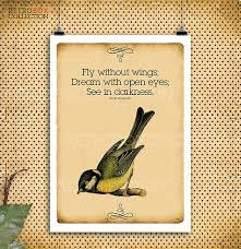 fly quotes birds flying print vintage letter paper a4 300dpi