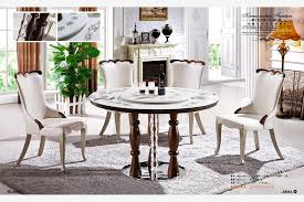 round marble dining table and chairs 5 seater round marble dining table with lazy susan furniture from