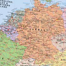 Darmstadt Germany Map by Scottish European Union Post Brexit Wall Map Xyz Maps