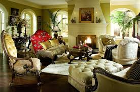 furniture pretty sofa set and tufted ottoman by aico furniture on