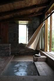 Sunken Bathtub 22 Natural Stone Bathtubs Emphasizing Their Spatialities