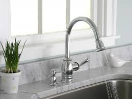 Kitchen Faucet Spray Sink U0026 Faucet Exciting Polished Nickel Pull Down Kitchen Faucet