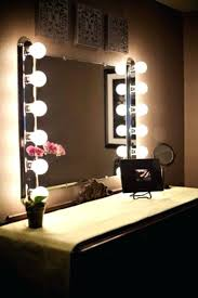 Lighted Vanity Mirrors For Bathroom Wall Mounted Lighted Vanity Mirror Led Mam84836 Light Wall