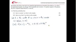fmsp revision video mei s1 hypothesis testing youtube