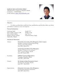 Sle Resume For Teachers Applicant Philippines Resume Houston Sales Lewesmr