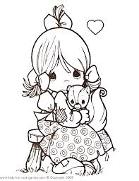 coloring pages precious moments coloring