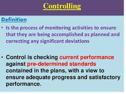 Controlling Definition   controlling