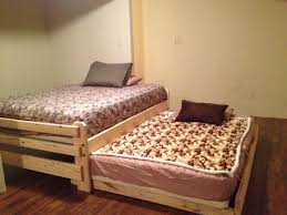 bedroom pop up trundle bed frame wooden trundle bed trundle