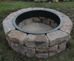 Fire Pit Lava Rock by How To Build A Fire Pit Ring