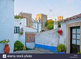 the medieval architecture of obidos the picturesque town with