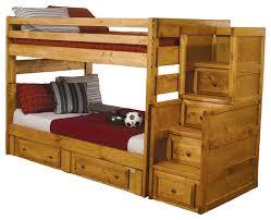 Bunk Beds Wood Wonderful Solid Wood Bunk Bed Wash Oak Solid Wood