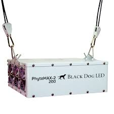 200 watt hps light black dog phytomax 2 200 watt led grow light fixture