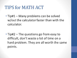 act math review 2 nd section of the test math section of act 60
