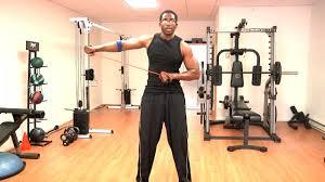 celebrity home gyms donovan green celebrity fitness family health coach teaches home gym