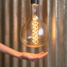vintage antique bulb oversized 7 in wide x 12 in 60 watts