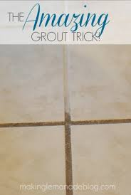 Cleaning White Grout 3 Top Secret Tricks For Cleaning With Vinegar Lemonade