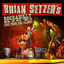 brian setzer s rockabilly riot live from the planet review