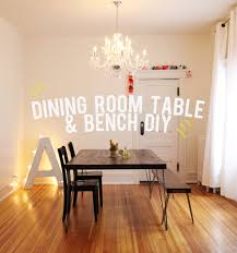 The Unhandy Mans Guide To Building A Dining Room Table  Bench - Dining room table bench