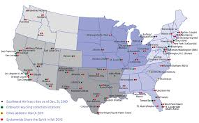swa route map southwest airlines 2010 one report 30 000 view