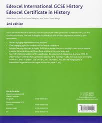 edexcel international gcse history student book second edition