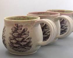 coffee mug pine cone vessels pinterest pine cone pine and