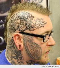 today u0027s collection of amazing tattoos on face you never seen