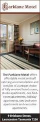 2 Bedroom Apartments Launceston Parklane Motel Motels 9 Brisbane Street Launceston
