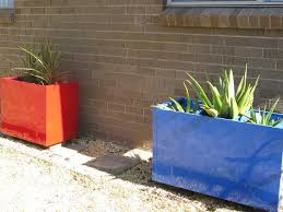 Upcycled Filing Cabinet Painting An Old File Cabinet To Make A Large Colorful Planter