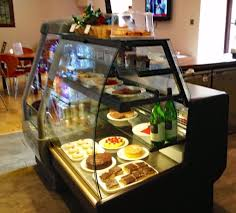 Glass Display Cabinet For Cafe Cafe Cake Glass Display Cabinet Counter In Dunfermline Fife