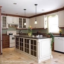 deco cuisine classique armoires de cuisine classique laque bois massif idée de décoration