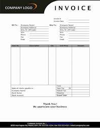 simple pro forma template