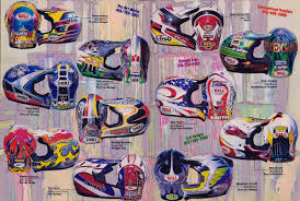 answer motocross helmets 80 u0027s u0026 90 u0027s custom painted helmets of the stars moto related
