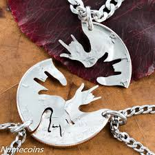 best friends necklace set images 3 best friend necklaces asl i love you hands 3 bff gifts or jpg
