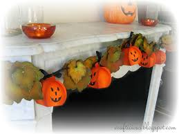 crafticious pumpkin treat box garland tutorial u0026 free templates