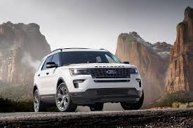 Ford Explorer Custom - 2018 ford explorer rear photos first pictures 2018 ford