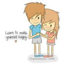 cute cartoon couple images with love quotes wallpaper simplepict com