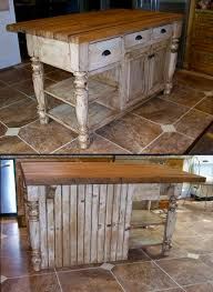 reclaimed barn wood kitchen island with wooden top made of reclaimed barn wood with butcher block top my country side